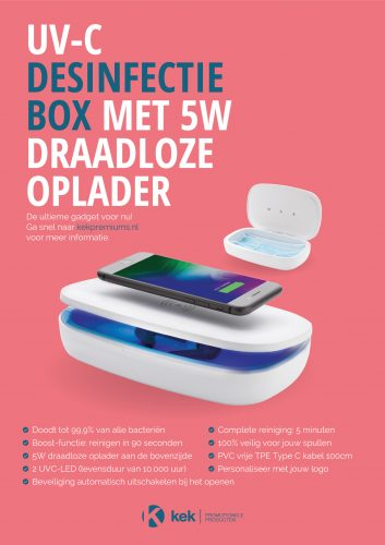 KEK-Promotionele-Producten---UV-C-Desinfectie-Box-met-5W-Draadloze-Opladerv2