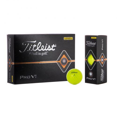 Titleist Pro V1 Geel
